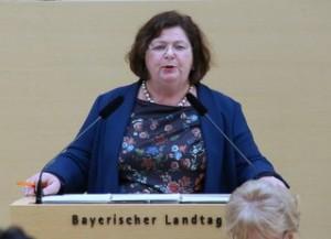 Christine Kamm, Landtagsabgeordnete von Bündnis 90/Die Grünen am 2. Februar 2016