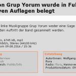 Grup Yorum - Konzert in Fulda mit massiven Auflagen