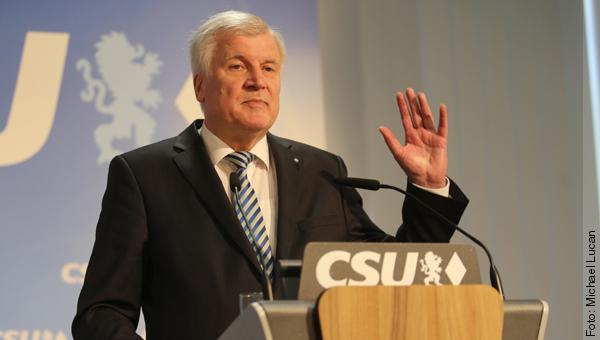 Horst Seehofer am 27. März 2017 in München